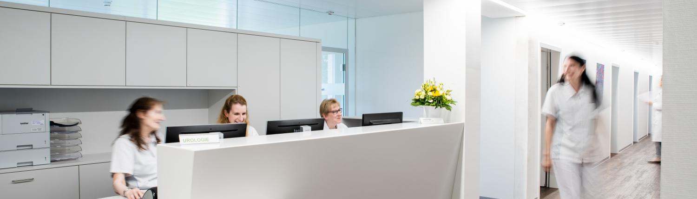 ZUN - Zentrum für Urologie und Nephrologie Bern - Empfang